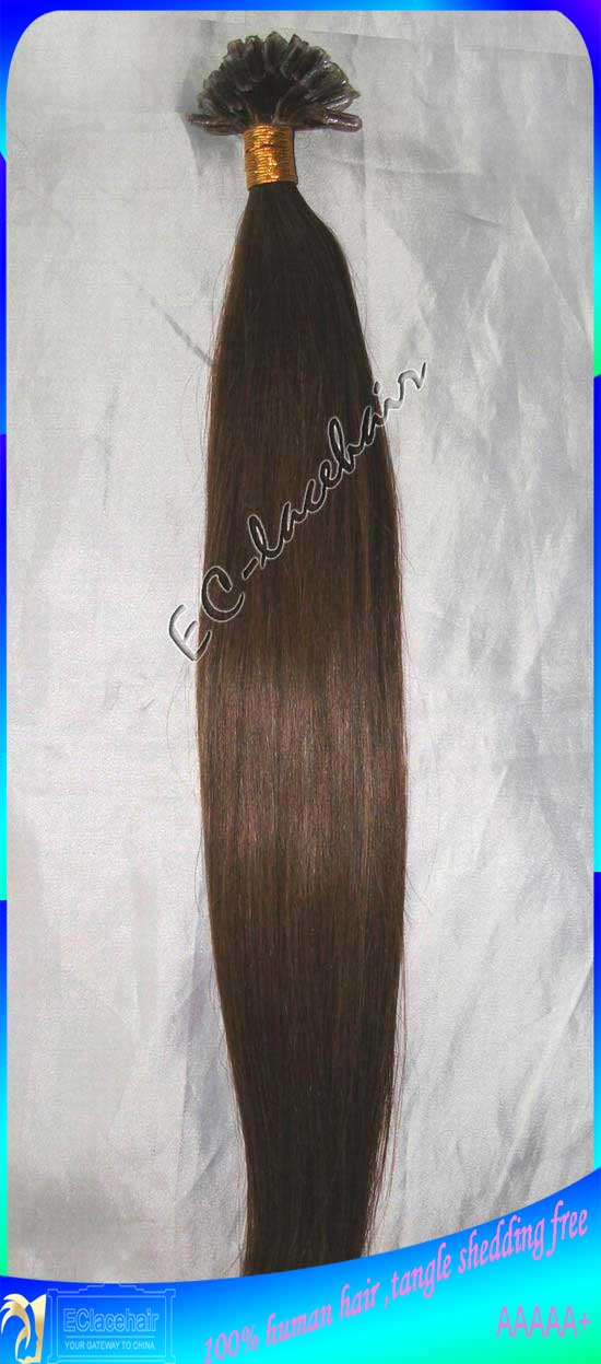 Indian Pre Tipped Human Hair Extensions Wholesale Products