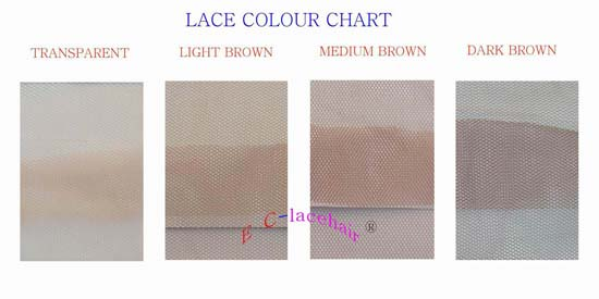 Lace Color Chart Products Qingdao Eclacehair Coltd
