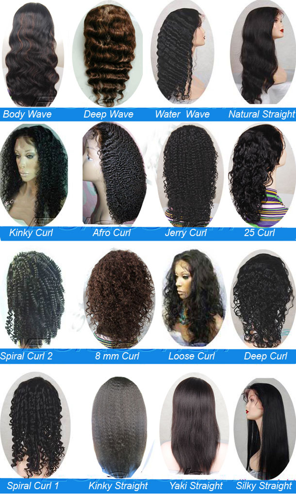 lace wigs hair style