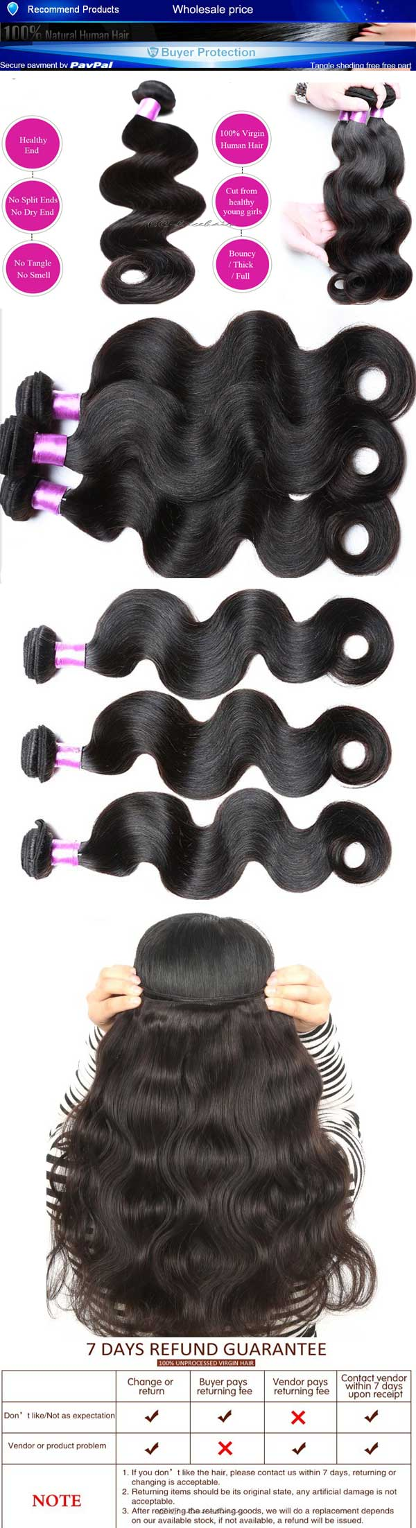 Best Quality Body Wave Indian Hair Weave Wefts Manufacturer
