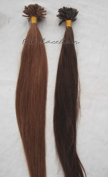 Brazilian Virgin Pre-bonded human Hair Extensions for Black Women ... 04cb265557