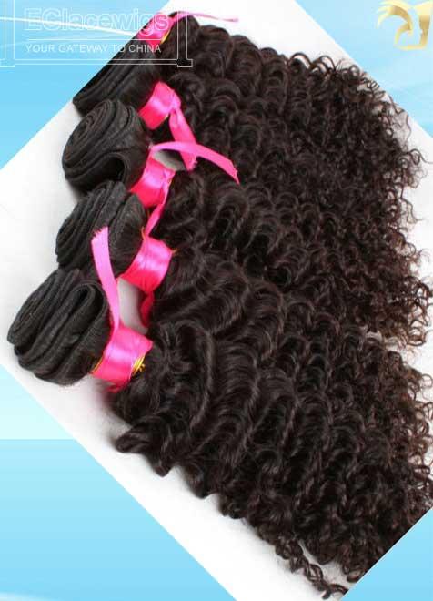 Real Good Quality Cheap Malaysian Virgin Deep Wave Human Hair Weave