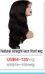 Natural Straight Lace Wig
