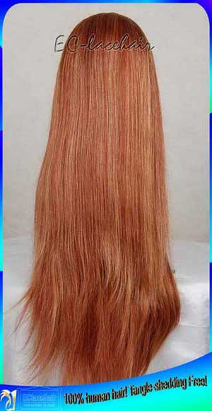 streak highlight full lace wig