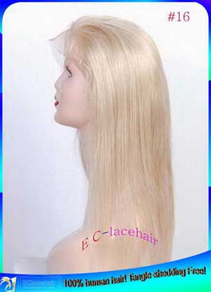 #16 lace wig