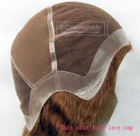 thin skin lace wig cap