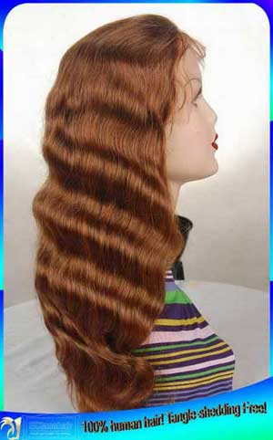 ---- mixed full lace wig
