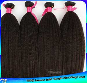 Cheap Price Kinky Straigth Virgin Brazilian Human Hair Weaves Weft Extensions