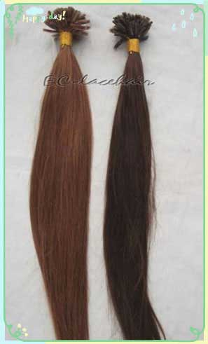 Brazilian Virgin Pre-bonded human Hair Extensions for Black Women