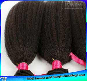 Kinky Straight Indian Human Hair Weave Wefts Wholesale Price Bundels
