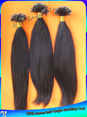 Indian Pre-tipped Human Hair Extensions Wholesale