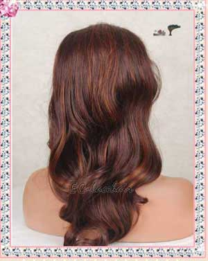 ----- Highlight Synthetic Frong Lace Wigs