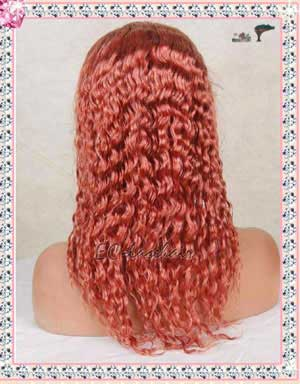 Color --- Human Hair Lace Wig
