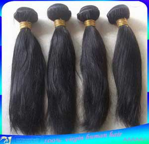 Brazilian Virgin Straight Human Hair Weave Wefts Wholesale Seller