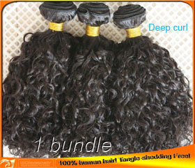 Best Quality Cheap Deep Curl Indian Human Hair Weaves Wholesale Factory Price