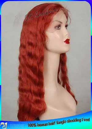 Color -- Human Hair Full Lace Wig-Custom Wig