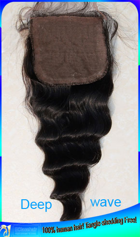 Brazilian Silk Base Top Lace Closures Factory Price Seller