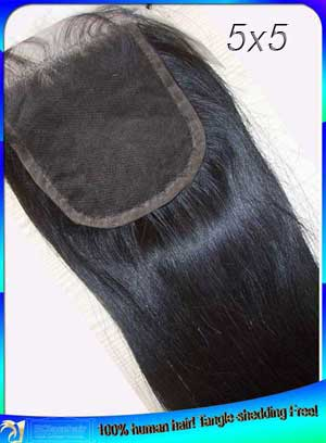 Free Shipping Indian Hair Straight Lace Top Closures Manufacturer